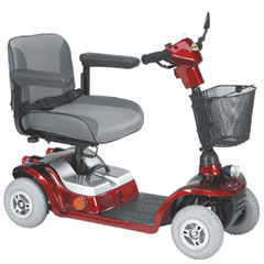Picture of Days Healthcare Strider Mini 4 mobility scooter